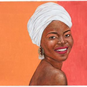 Original Artwork by Gusti Wis | 8 Headscarf | Kazari