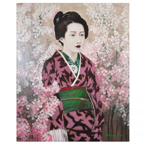Original Artwork by Gusti Wis | 9 Blossom | Kazari