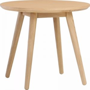 Oringo Side Table | Round | Oak