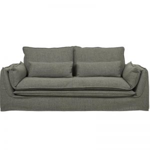 Orlando Seamed 3 Seater Sofa | Sea Moss |  Pre Order