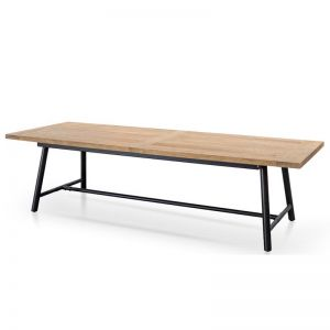 Oscar 2.8m Recycled Elm Wood Dining Table | Interior Secrets