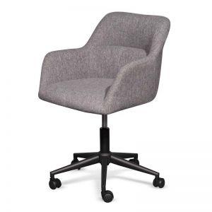 Osian Fabric Office Chair | Lead Grey