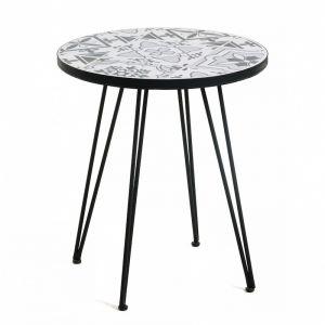 Oswalda Mosaic Side Table