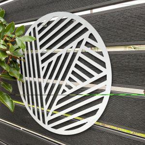 Outdoor Circle Decorative Panel | Metal Cutout Circle C.1
