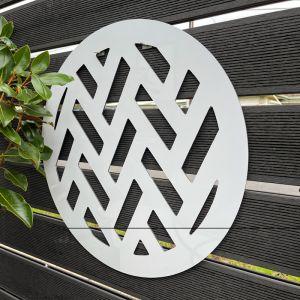 Outdoor Circle Decorative Panel | Metal Cutout Circle M.1