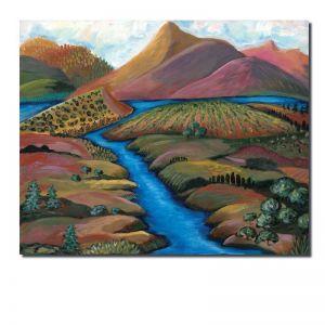 Outdoor Dreaming   Landscape Original Artwork