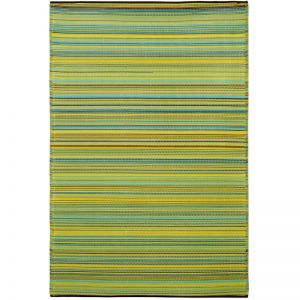 Outdoor Rug | Cancun Lemon and Apple Green