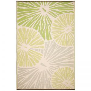 Outdoor Rug | Citrus Lily Green