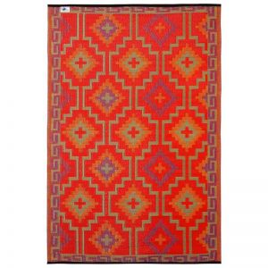 Outdoor Rug | Lhasa Orange and Violet