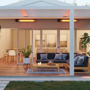 Overhead Outdoor Heaters | Radiant Ceramic | RIR2000 Slim