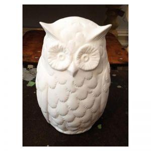 Owl Lamp Bone China