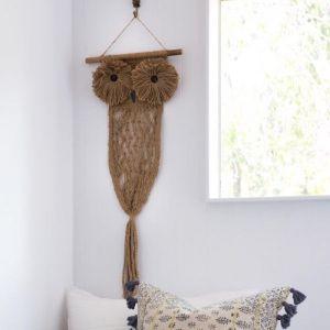 Owly Mc'Owlface | Wall Hanging by Amigos de Hoy