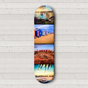 Ozzie Icons | Skateboard Deck Wall Art | Australian Landscape Photography | Blue Herring
