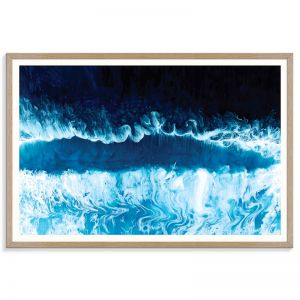 Pacific Blue | Martine Vanderspuy | Canvas or Print by Artist Lane