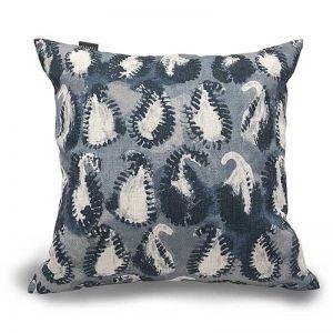 Paisley Cushion Indigo