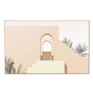 Pale Arch | Natural Box Frame | Front View