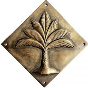 Palm Diamond Plaque | 3 Sizes | Pineapple Traders