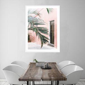 Palm Doorway I Premium Art Print (Various Sizes)
