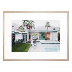 Palm Springs Cool   Framed Print