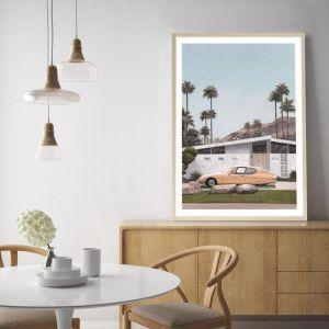 Palm Springs Doorway 2 Art Print | Various Sizes