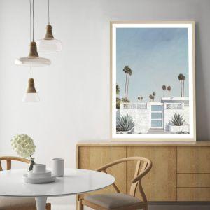 Palm Springs Doorway 3 Premium Art Print (Various Sizes)