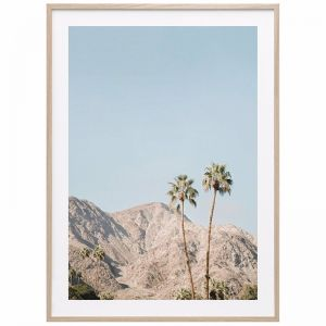 Palm Springs Mountains | Framed Print | 41 Orchard