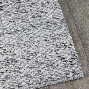 Palmas Wool Rug   Smoke Grey   Pre Order Mid - Late August 2021