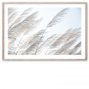 Pampas Breeze 1 | Framed Giclee Art Print by Wall Style