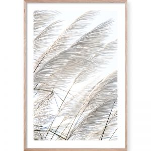 Pampas Breeze #2 | Framed Giclee Art Print | By Wall Style