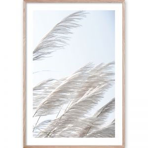 Pampas Breeze #3 | Framed Giclee Art Print by Wall Style