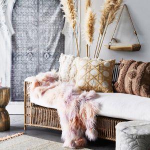 Panama Cushion by Amigos de Hoy | Straw