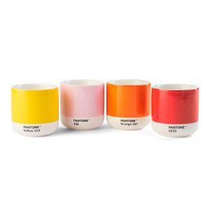 Pantone Cortado Thermo Cup YELLOW-RED-ORANGE-L.PINK