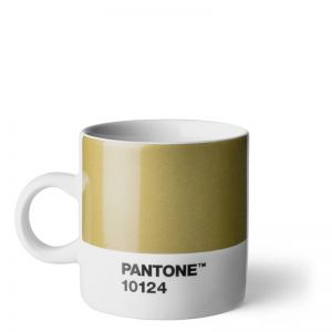 Pantone ESPRESSO CUP Gold 10124 C