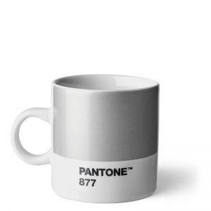 Pantone ESPRESSO CUP Silver 877 C