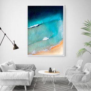 Pantone | Floating Framed Canvas Art
