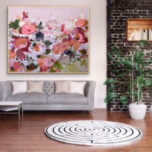 Paper Daisies by Kate Owen | Ltd Edition Canvas Print | Art Lovers Australia