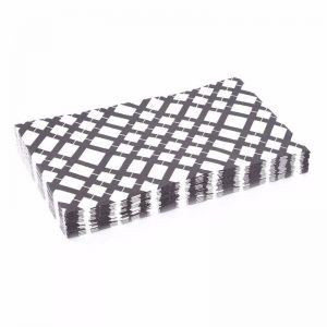 Paper Napkins | 3 packs of 20 | Grid