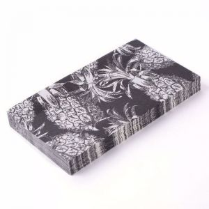 Paper Napkins | 3 packs of 20 | Our Lieu Black