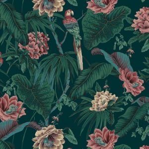 Paradisa Tropical Wallpaper |  Green