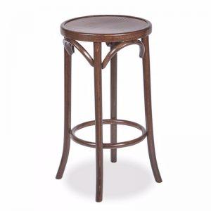 Paris Bentwood Thonet Counter Stool | 68cm | Walnut