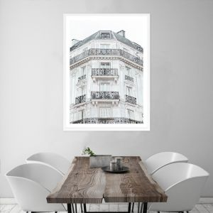 Paris Building I Premium Art Print (Various Sizes)