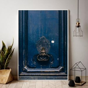 Parisian Knock | Limited Edition art prints | Unframed | 3 sizes