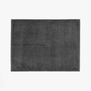 Paros Bath Mat | Charcoal by Aura Home