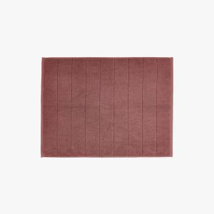 Paros Bath Mat | Mahogany by Aura Home
