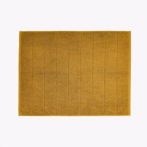 Paros Bath Mat | Mustard | by Aura Home