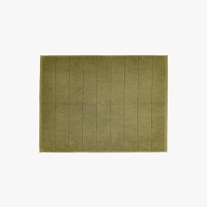 Paros Bath Mat | Olive by Aura Home