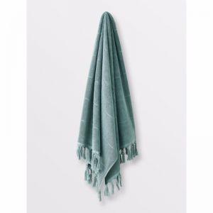 Paros Bath Towel | Jade | by Aura Home