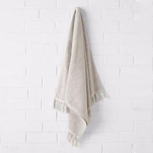 Paros Bath Towel | Natural | by Aura Home