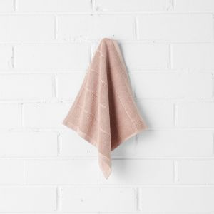 Paros Face Washer | Pink Clay by Aura Home