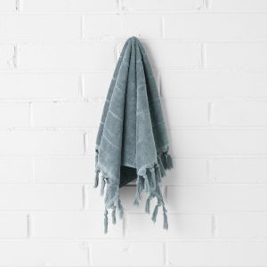 Paros Hand Towel | Eucalypt by Aura Home